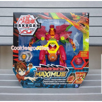 Bakugan Dragonoid Maximus Transforming Figure with Lights and Sound