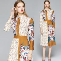 Baju Gamis Wanita AVA CHARMING Dress Midi Untuk Musim Panas