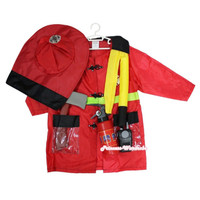 Baju Profesi Pemadam Kebakaran Anak / Kostum Fireman Anak Damkar
