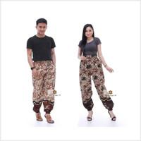 Super Promo Celana Jogger Batik Wanita & Pria Unisex Original by Batik