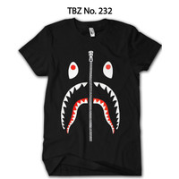 Baju BAPE Shark Anak Katun Premium Original TBZ-232