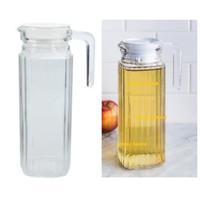 pitcher / teko air /water jug/ botol minyak 1 liter bahan kaca