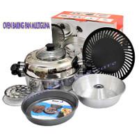 Ready Stock promo OVEN BAKING PAN MULTIGUNA