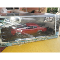 DIECAST FAST & FURIOUS DOMS 1970 CHEVROLET CHEVELLE SS