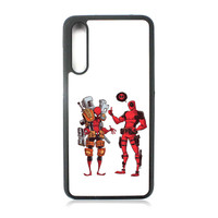Casing Huawei P20 Pro Deadpool x Spiderman Marvel YD0148