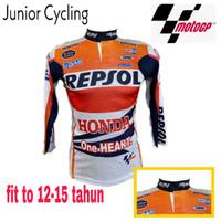 Baju Sepeda Anak Remaja Jersey Balap MOTOGP lengan Panjang