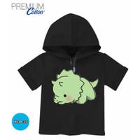 Baju Dino Cute Boy Baju Hoodie Anak Katun Premium #KDA-20