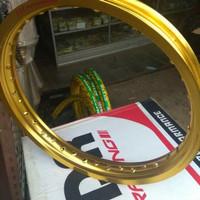 Jual Velg TDR W shape ukuran 185 / 250 ring 18 gold Berkualitas