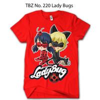Baju Ladybug & Cat Noir DEWASA Karakter Premium Original