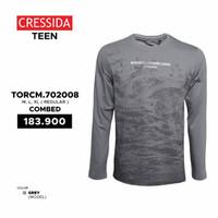 Baju Kaos Lengan Panjang Remaja Pria/ Cowok Branded Original