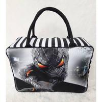 SK978 Koper travelbag anak spiderman
