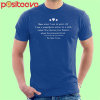 Baju Kaos Must Read Opening Lines The Little Prince