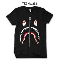 Kaos BAPE Shark Anak Premium Katun Original