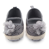 Cute Baby Girl Summer Hollow Knit Soft Soled Walking Ballet Shoes