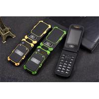 Handphone Flip ( Lipat ) Clamshell Model Outdoor ( LANDROVER ) Keren