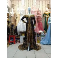 Gaun Pengantin Bludru Mewah | Baju Pengantin Solo/Jawa/Minang | Gaun