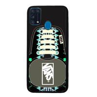 Casing Samsung Galaxy M31 Vans SHoes Aztec Pattern BLACK J0209