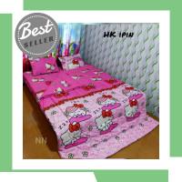 Set Sprei + Bedcover Doraemon Stars/Pink Tsum2/Singging keropi/kucing