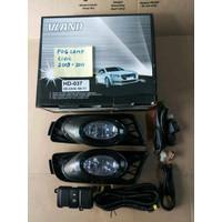 Fog Lamp Foglamp Honda Civic 2009 2010 2011 Lampu Kabut Berkualitas