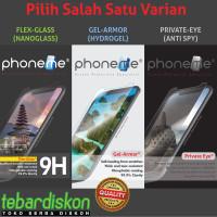 Huawei Nova 3e P20 Lite PhoneMe Hydrogel Nano Tempered Glass Anti Spy - Hydrogel Isi 2, Clear