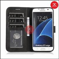 TERBAIK Case Samsung Galaxy S6 Edge Flip Case Wallet Leather Cover Sam