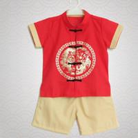 Cheongsam Anak Laki Baju Imlek Anak Cowo - 4