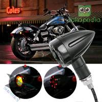 LAMPU MOTOR XD1M30 LED SEN SEIN SIGN SENJA REM CAFE RACER JAP BOBBER