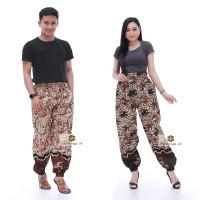 Limited ! Celana Jogger Batik Wanita & Pria Unisex Original by Batik