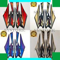 SYSS striping stiker motor yamaha rx king tahun 2002 full set kualitas