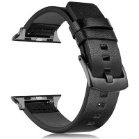 TOP Genuine Leather Band For Apple iWatch Series 5 4 3 2 1 Sport Watc