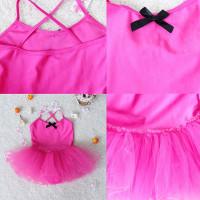 Dansa Baju Leotard Untuk Anak Perempuan : Model Balet Dengan Rok