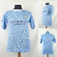 Jersey/Baju/Kaos Sepak Bola Dewasa Internasional Manchester City Home
