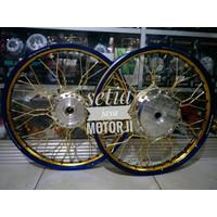 paket velg kepang beat vario scopy spacy velg TDR ring 17 set lengkap