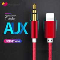 Kabel AUX Audio Musik 3.5mm untuk iPhone 7 8 Plus x XS Max XR iOS 12