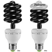 Ifas ♣ Lampu LED Ultraviolet UV Spiral 220V 36W 40W E27 Hemat
