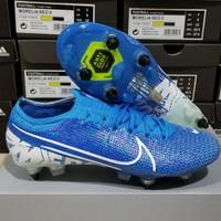 Sepatu Bola Nike Mercurial Vapor13 Elite Blue Hero Anticlog