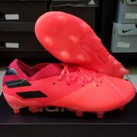 Sepatu Bola Adidas Nemeziz 19.1 Orange Fg