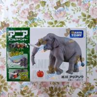 Ania AS 18 Indian Elephant Gajah Zoo Kids Toys Figure Takara Tomy ORI