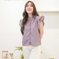 Beatrice Clothing Noel Blouse - Blouse Wanita