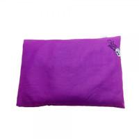 Olus Pillow Bantal Kulit Kacang Hijau - Dark Purple