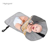 ❤Highgos❤3 in 1 Diaper Change Station Mat Folded Waterproof Baby