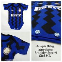 BAJU BAYI BOLA / BABY JUMPER / JUMPER BOLA / JERSEY BOLA BAYI INTER 2 - M