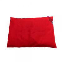 Olus Pillow Bantal Kulit Kacang Hijau - Red