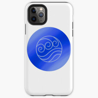 Custom Case iphone 11 12 Pro Max Water Element from ATLA and TLOK 8 X