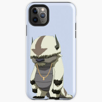 appa with gold chain Casing iphone XS MAX 12 11 8 Plus Pro case