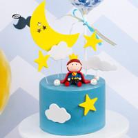 Topper Kue Bentuk Pangeran Untuk Dekorasi Pesta Ulang Tahun/Baby