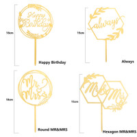 1pc Stik Dekorasi Cupcake Diy Untuk Pesta Ulang Tahun/Pernikahan