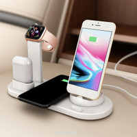 arging Stand Accessory Base Gift Home For Apple Earphone Phone Wat