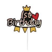 Topper Kue Ulang Tahun 100 Hari untuk Dekorasi Pesta Baby Shower