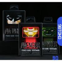 Terlaris Remax Avenger Series Power Bank 10000mAh - RPL-20 - Black